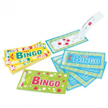 Mini Bingo Partie Spéciale Pour Loto Carnet Jeu Loto