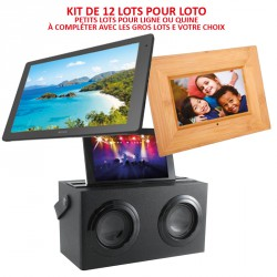Kit 12 Lots de Loto