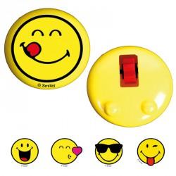 Sticky smiley glisse vitre (lot de 12)