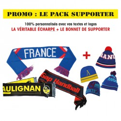 LE PACK SUPPORTER | ECHARPE + BONNET