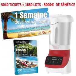 TOMBOLA MAXI BENEFICES - KIT 33 - SEJOUR