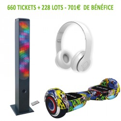 TOMBOLA A VOS COULEURS - KIT 36 - Hoverboard