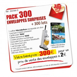 Pack 300 enveloppes surprises