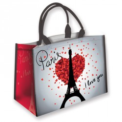 "Sac trendy ""Paris I love you"""