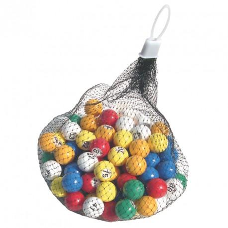 Boules multicolores