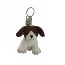 Porte-clés peluche chien (lot de 12)