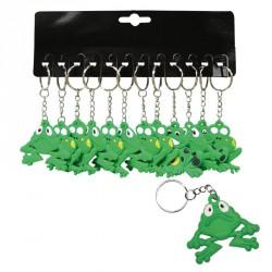 Porte-clés grenouille (lot de 12)