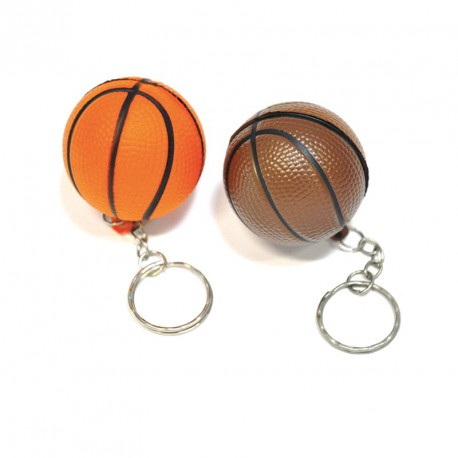 Porte-clés ballon basket (lot de 12)