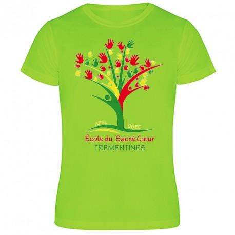 Tee-shirt couleur personnalisé : 3 couleurs sur 1 face