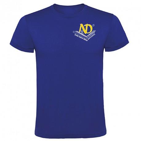 Tee-shirt couleur personnalisé : 2 couleurs sur 1 face