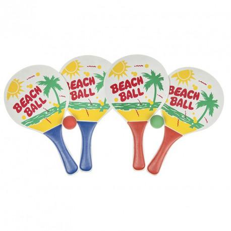 Set 2 raquettes beach volley