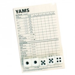 Jeu de Yam's (lot de 12)