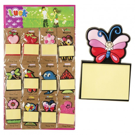 Sticky note + magnet (lot de 12)