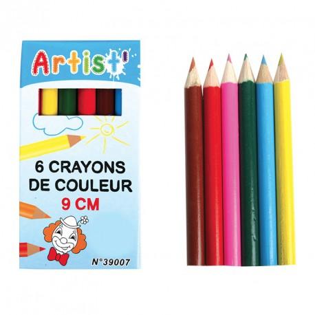 Crayons de couleurs (lot de 12)
