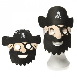 Masque de pirate (lot de 10)