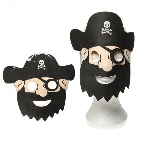 Masque de pirate (lot de 10)