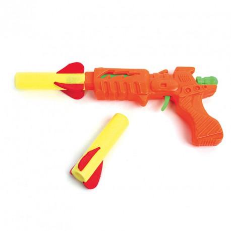Pistolet + fusées (lot de 12)