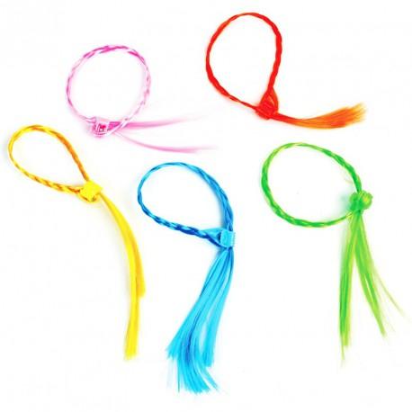 Beauté coiffure mèche clip (lot de 12)