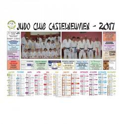 Calendrier sponsors A3 Recto Sans bloc
