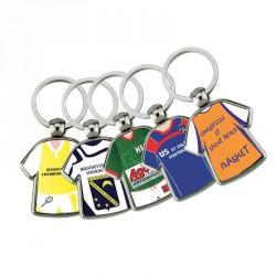Porte-clés maillot métal