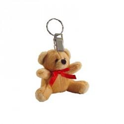 Porte-clés peluche nounours (lot de 12)