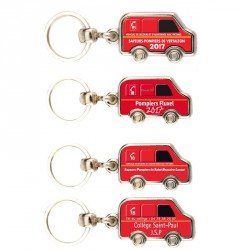 Porte-clés camion pompier