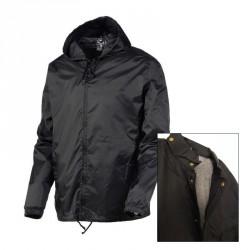 Coupe-vent double noir (lot de 10) - Taille XL-XXL