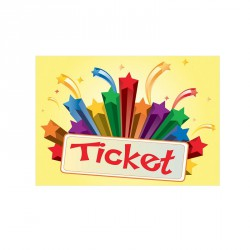 "Lot de 1000 coupons ""Tickets"""
