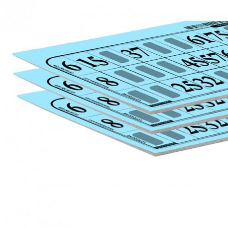 Carton de loto très épais (lot de 500)