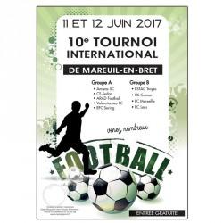 Affiches - Format A3 (le lot de 25) - FOOTBALL
