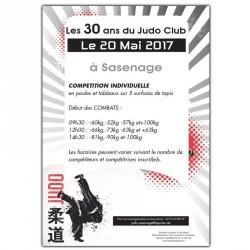 Affiches - Format A3 (le lot de 25) - JUDO