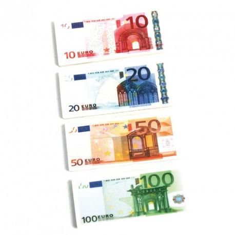 Gomme billet euro