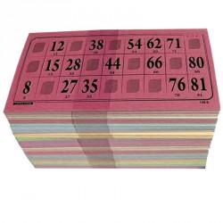 Cartes de loto Bristol (lot de 500)
