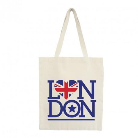 """Tote bag """"london star"""""""