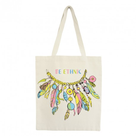 """Tote bag """"be ethnic"""""""
