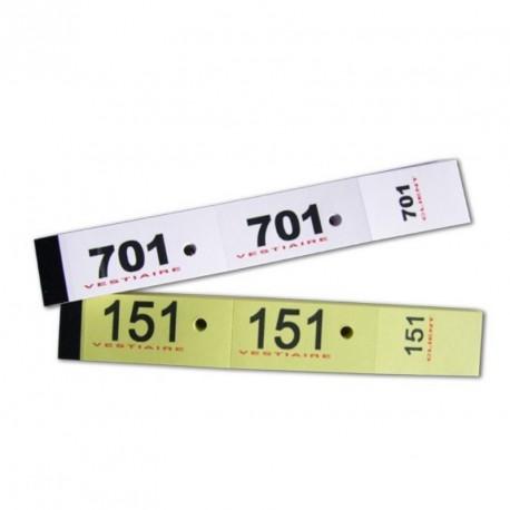 Carnet de 50 tickets vestiaire (le carnet)