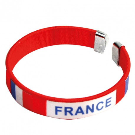 Bracelet équipe de France (lot de 12)