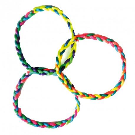 Bracelet brésilien avec fermoir (lot de 12)
