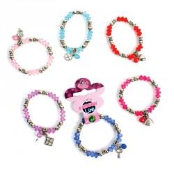Bracelet charme (lot de 12)