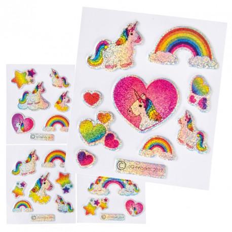 Stickets licorne (lot de 100)