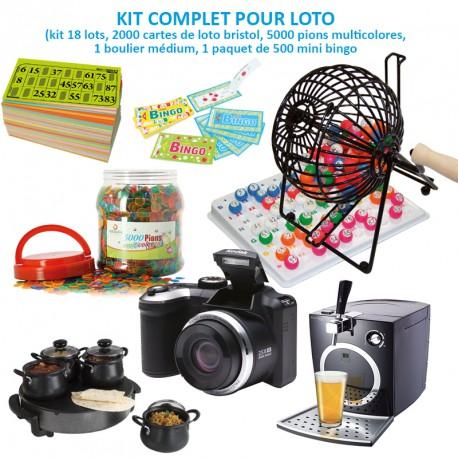 Kit complet pour loto
