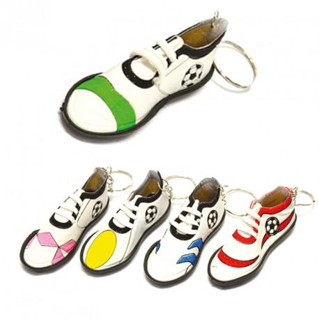 Porte-clés chaussure foot (lot de 12)