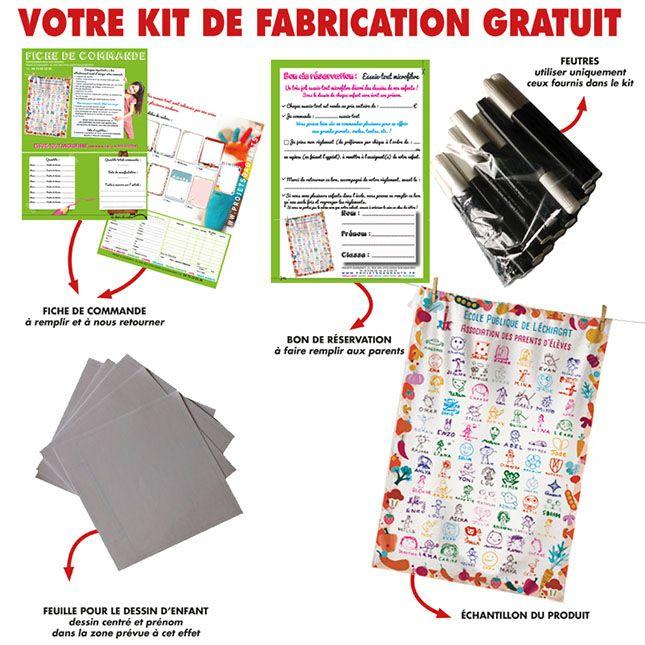 KIT FABRICATION GRATUIT-ESSUIE-TOUT-PSD0