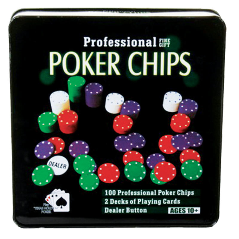 COFFRET METAL POKER