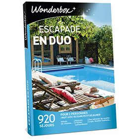 COFFRET WONDERBOX ESCAPADE DUO