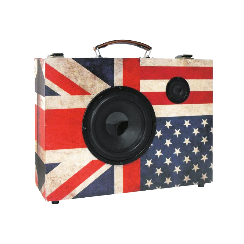VALISE ENCEINTE BLUETOOTH KARAOKÉ LONDON